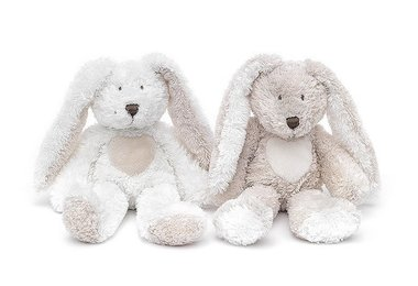 Teddy Cream Rabbit, mini, grey