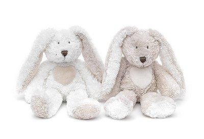 Teddy Cream Rabbit, mini, grey