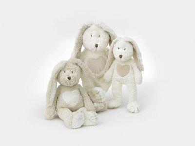 Teddy Cream Rabbit, medium grey
