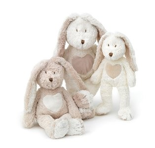 Teddy Cream Rabbit, small, white